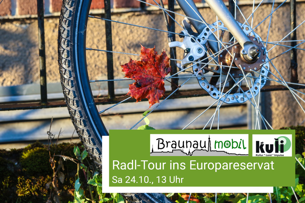 Radl-Tour ins Europareservat