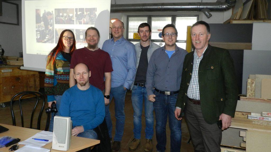 das Team der offenen Netzwerkstatt